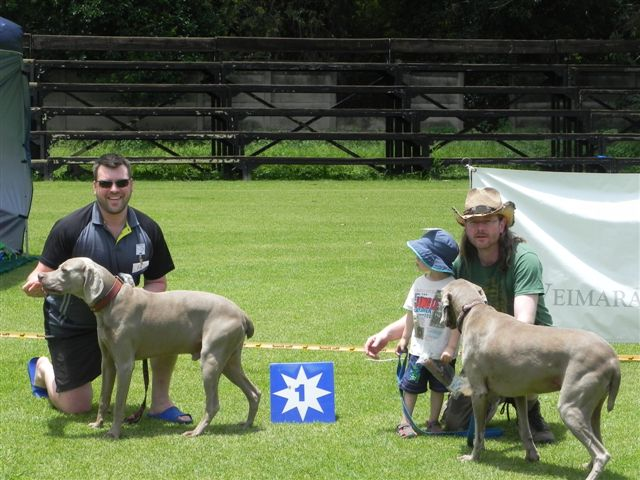 Joint First Time Handler winners